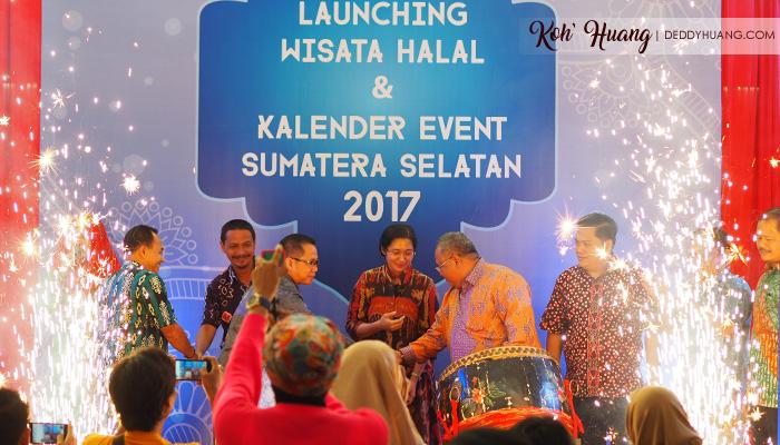 lauching wisata halal palembang - Catat Tanggal dan Ambil Cuti Kalian, Kalender Event Sumatera Selatan 2017 Sudah Keluar