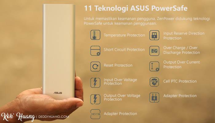 asus powersafe - Asus ZenPower Ultra 20100 mAh, Power Bank Kualitas Unggulan