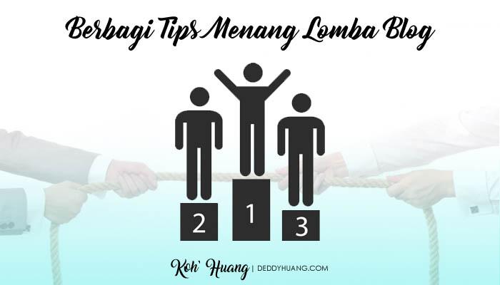 banner tips menang lomba blog - Berbagi Tips Menang Lomba Blog