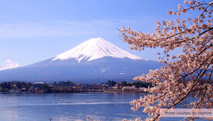 gunung fuji sakura - Menikmati Sakura Jepang Enaknya Kemana? Yamanashi!