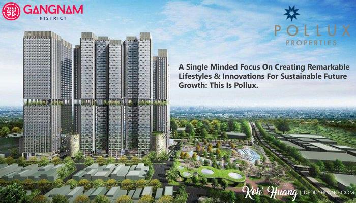 pollux properties - Gangnam District Hunian Bergengsi Pusat Kota Bekasi