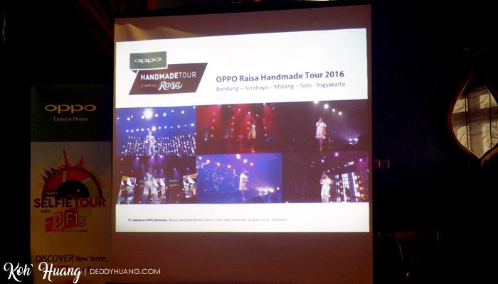 Foto-foto konser Raisa yang diambil pakai OPPO F1s