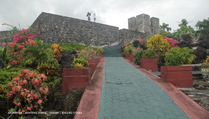 benteng torre - Visit Tidore Island - Merekam Jejak Wisata Pulau Rempah