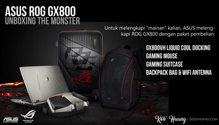 paket pembelian rog gx800