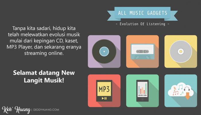 era musik - Langit Musik, Cara Keren Nikmati Musik Digital Secara Legal