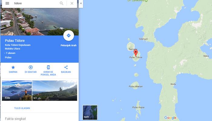 peta tidore - Visit Tidore Island - Merekam Jejak Wisata Pulau Rempah