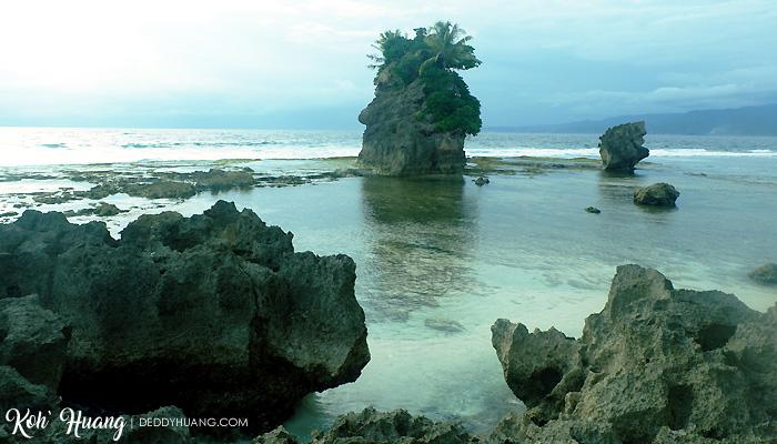 batu gukhi panorama - Jelajah Pesona Pulau Pisang, Krui (Bagian 1)