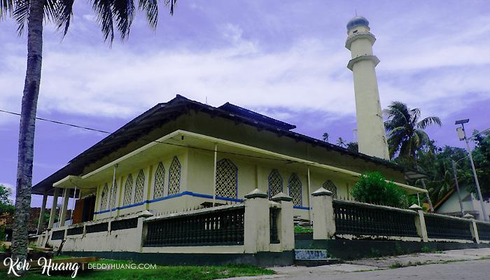 masjid pulau pisang