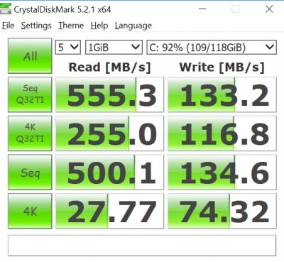 ssd benchmark ux410 - Rahasia Kerja Asyik Menjadi Kreator Konten Bersama ASUS ZenBook UX410UQ