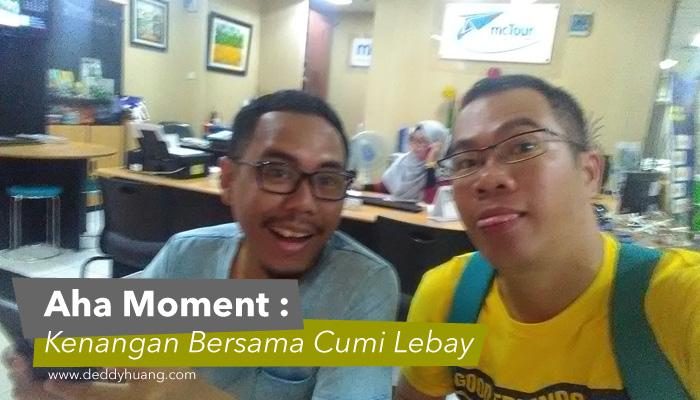 banner cumilebay1 - Aha Moment Skyscanner : Kenangan Bersama Cumi Lebay