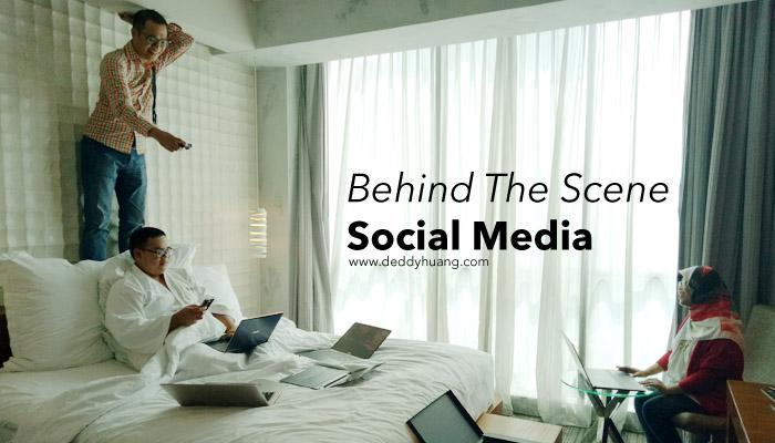 behind the scene social media
