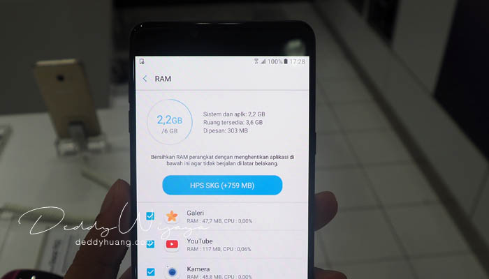 ram galaxyc9pro - Gaya Hidup Aktif Bersama Samsung Galaxy C9 Pro