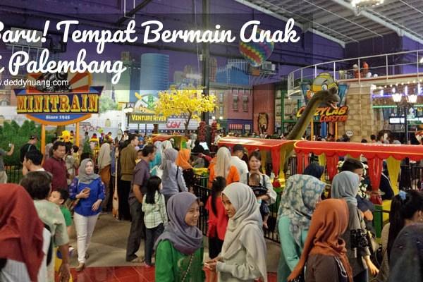 Baru! 2 Tempat Bermain Anak di Palembang