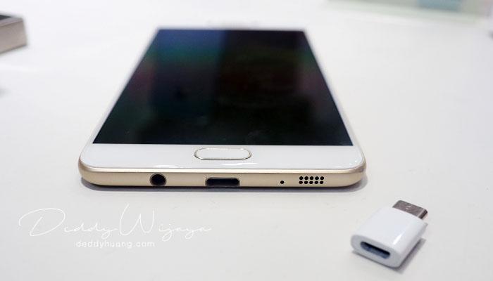 usb type c - Gaya Hidup Aktif Bersama Samsung Galaxy C9 Pro