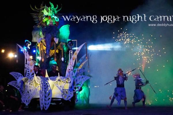 Wayang Jogja Night Carnival 2017, Malam Puncak HUT 261 Yogyakarta