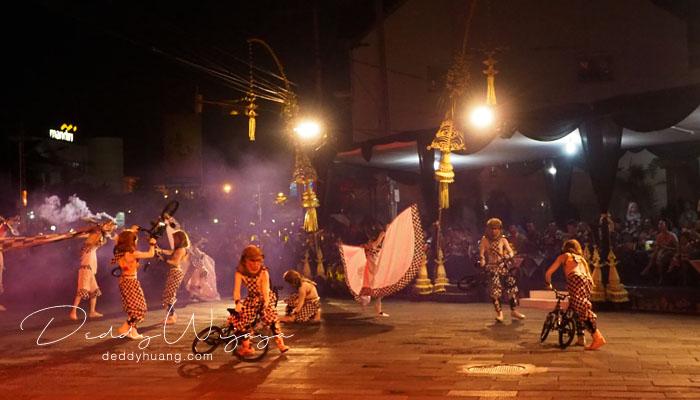 wayang night jogja carnival 01 - Wayang Jogja Night Carnival 2017, Malam Puncak HUT 261 Yogyakarta