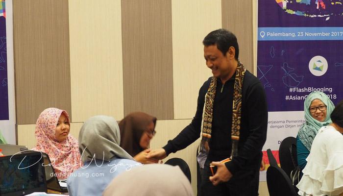 5 - Blogger Palembang Sarasehan Bersama KOMINFO