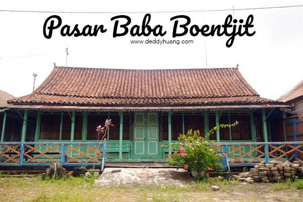 Pasar Baba Boentjit, Warna Baru Wisata Kota Palembang