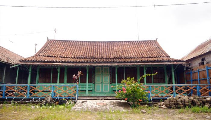 rumah baba ongboentjit - Pasar Baba Boentjit, Warna Baru Wisata Kota Palembang