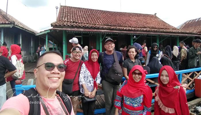 wefie grup 2 - Pasar Baba Boentjit, Warna Baru Wisata Kota Palembang
