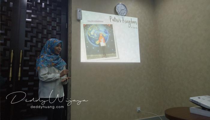 presentasi putri - Sudut Istana : Harapanku Sebagai Blogger (Bagian 2)