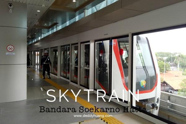 Penasaran! Inilah Penampakan Skytrain Bandara Soekarno Hatta