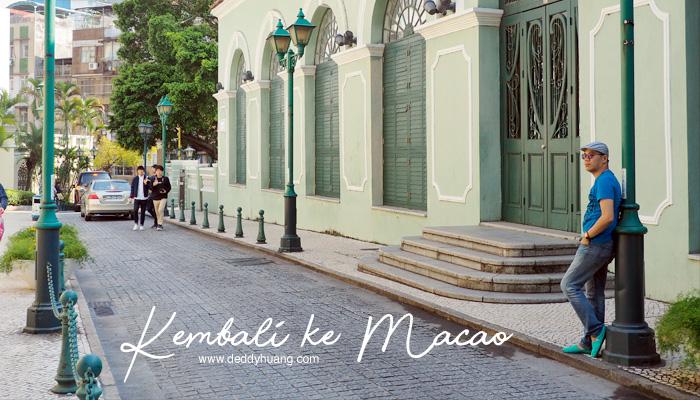 kembali ke macao1 - Kembali ke Macao, Mengumpulkan Kenangan 5 Tahun Lalu