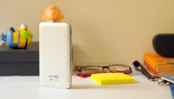 acmic 10000mah - [REVIEW] ACMIC A10Pro 10000 mAh Quick Charge 3.0