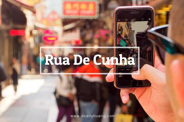 Rua De Cunha, Sudut Kuliner Menggiurkan di Macao