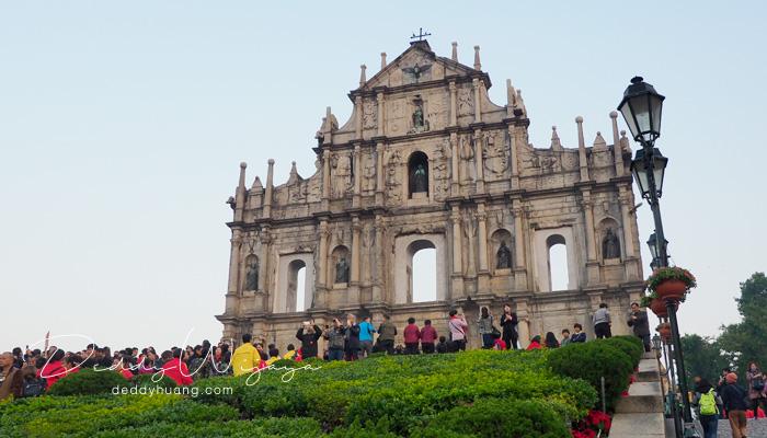 ruin st paul 4 - Sunyi Pagi Membisu Macao