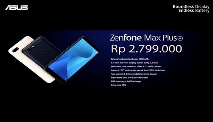 harga ZenFone Max Plus M1