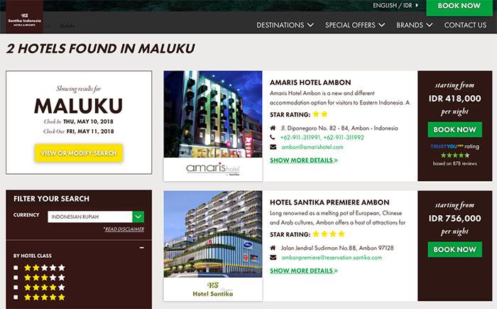 promo harga kamar santika premiere ambon - Solo Traveling Modal 150 Ribu Bisa Puas Keliling Kota Ambon