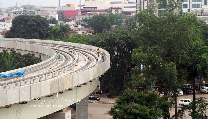 lrt palembang 03 - Pengalaman Naik LRT Palembang Pertama Kali!