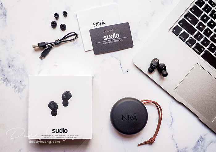 sudio niva 04 - [REVIEW + Kode Diskon] SUDIO Niva, Earphone Wireless Tanpa Kabel