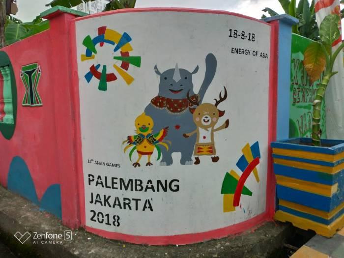 asian games 2018 - Main Ke Kampung Warna Warni Asian Games Palembang