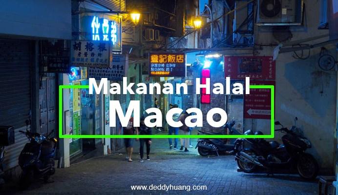 makanan halal di macao
