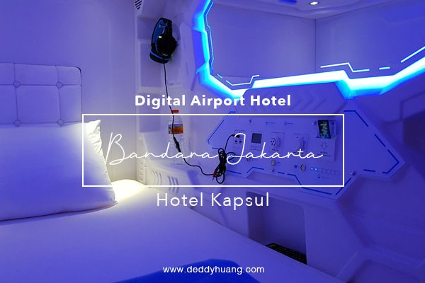 Wow! Sekarang Bandara Soekarno Hatta Ada Hotel Kapsul