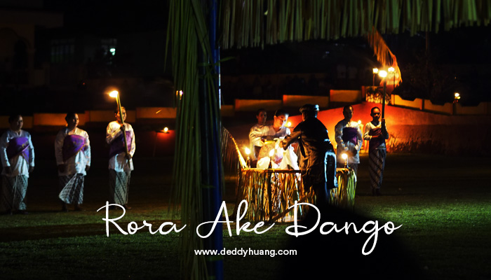 festival tidore ake dango