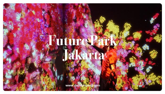 5 instalasi future park jakarta gandaria city