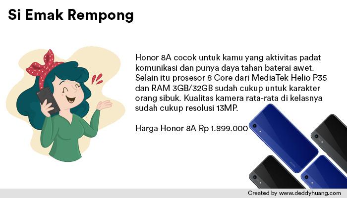 harga honor 8a - Rekomendasi Smartphone Ramadhan Harga Murah