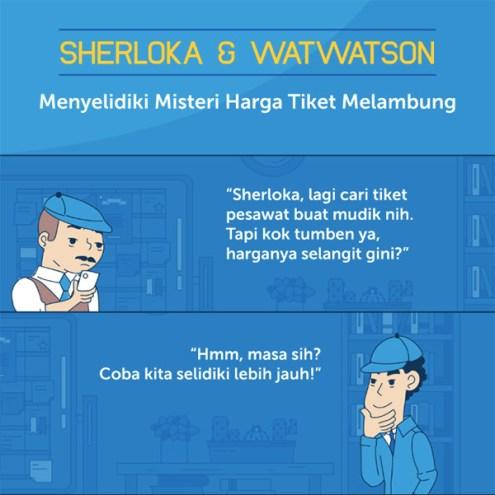 traveloka price1 - Drama Tiket Mahal + Habis, Aku Batal Pulang