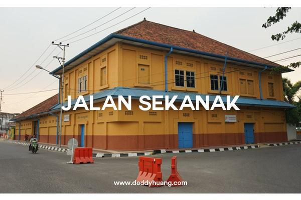 Jalan Sekanak, Kawasan Kota Tua Palembang Punya Cerita