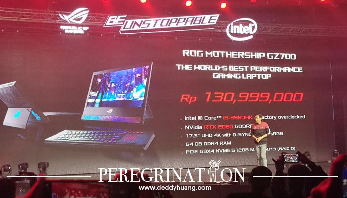 Harga Laptop ROG Mothership