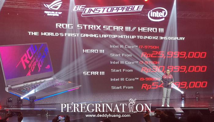 Harga Laptop ROG Strix/HERO