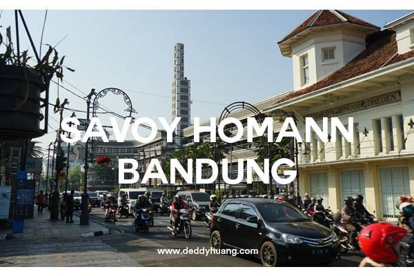 Hotel Savoy Homann Bandung : Semalam Menginap di Hotel Penuh Sejarah
