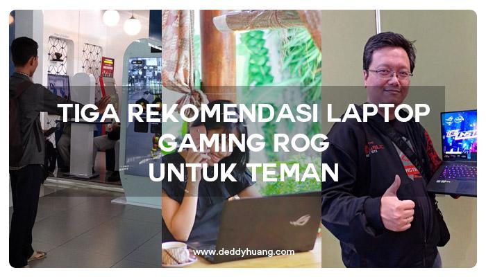rekomendasi laptop gaming rog