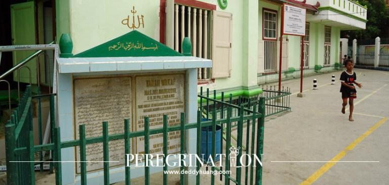 masjid tertua di palembang