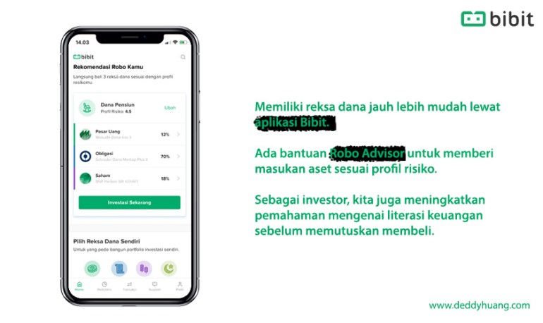 review aplikasi bibit