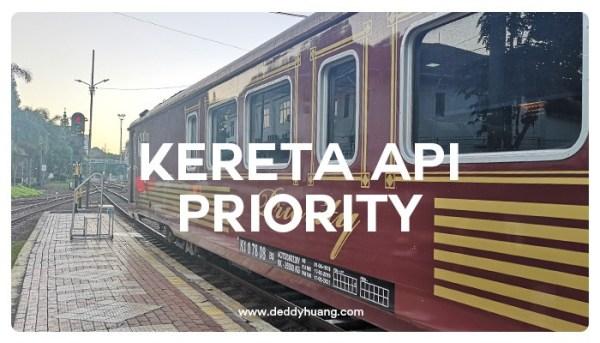Kereta Api Priority Tawarkan Sensasi Perjalanan Mewah