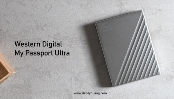Backup Data dengan Mudah dari Komputer, Western Digital My Passport Ultra